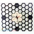 ساعت دیواری زنبوری