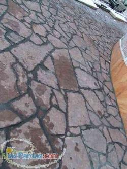 فروش سنگ فرش (سنگ لاشه ورقه ایی ) جهت کف سازی