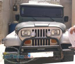جیپ صحرا مدل 81