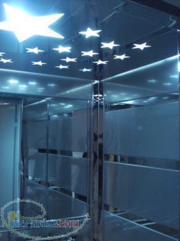 تزئينات داخلي كابين آسانسوردرمحل