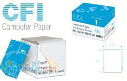 کاغذ کامپیوتر CFI Computer Paper فرم پیوسته 1 نسخه