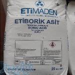 فروش اسید بوریک و بوراکس ترکیه