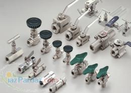 قطعات اتصالات و شیرآلات ابزار دقیق لوله و تیوپ