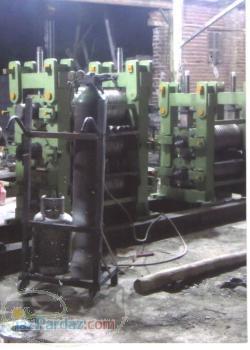 ساخت و نصب خطوط میلگرد با نورد گرم