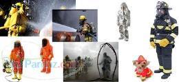 لباس عملیاتی آتشنشانی ضد حریق شیمیایی و کلیه البسه