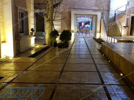 موزاییک واش بتنموزاییک ویبره سنگ مصنوعی کف کفپوش بتنی پیاده رو سنگ فرش