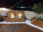 محوطه سازی و فضا سازی مدرن ویلا  باغ در مشهد