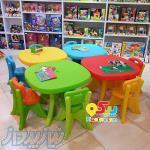 فروش ميز و صندلی مهد كودك و پارک بازی