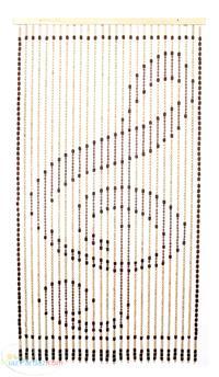 پرده آویز چوبی تزئینی