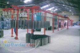 تولید کننده انواع کوره رنک استاتیک الکترواستاتیک کوره رنگ پودری