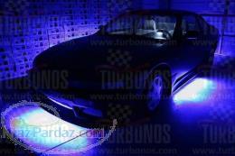 کیت کامل حرفه ای نورپردازی زیر خودرو ریموت دار LED Under Car Kit