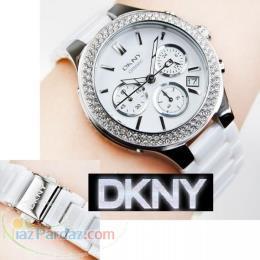 فروش یک عدد ساعت مچی زنانه DKNY 4985 Ceramic ( آکبند )