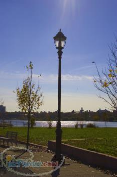 تولید چراغ پارکی و مبلمان شهری (نیمکت و  )