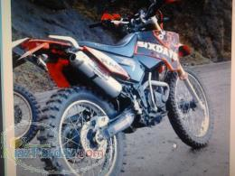 موتور سیکلت تریل 250 فلات طرح KTM