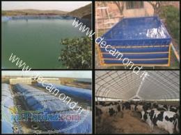دکاموند تولید کننده پوشش های ضدآب برزنت  پوشش استخر  سیلو  دامداری