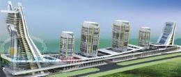 آیرانا برجی مرتفع بر تارک دریاچه خلیج فارس