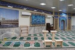 ساخت محراب کتیبه چوبی mdf دکوراسیون  تجهیزات نمازخانه