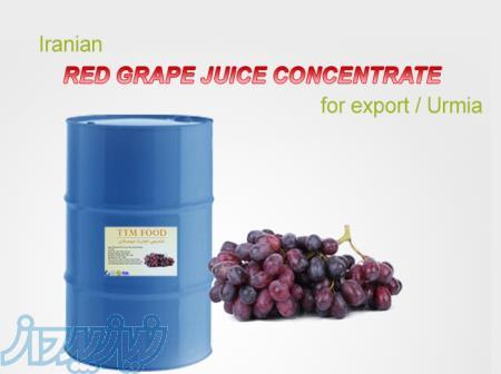 کنسانتره های انگور سفید و انگور قرمز با کیفیت صادراتی