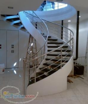 پله گرد پله دوبلکس آذر استپ