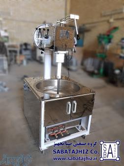 دستگاه پخت و همزن خمیر (داغ زن)