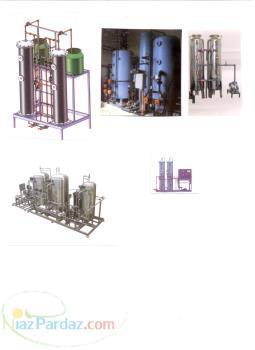 آب رادیاتور ضدیخ راه اندازی وفرمولاسیون دیونایزر-RO-و کلیه دستگاههای خط تولید(بسته بندی وتصفیه اب)