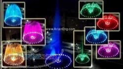 عرضه انواع چراغ هاي زير آبي واتر پروف تک رنگ و مالتي کالر با درجه تابش مختلف طبق سفارش