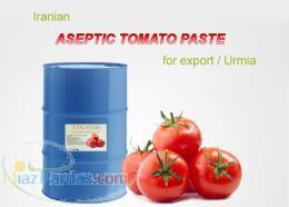 فروش رب گوجه فرنگی اسپتیک با کیفیت صادراتی