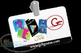 خرید گیفت کارت آیتونز گوگل پلی آمازون و سایر گیفت کارها با تحویل آنی