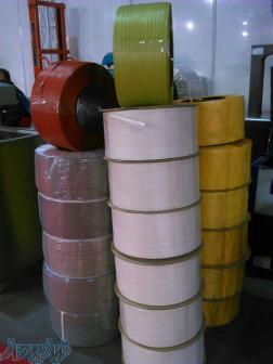 تولید و توزیع ملزومات بسته بندی تسمه بسته بندی PP و PET ساده و چاپدار در رنگ مورد نیاز شما در مدلهای
