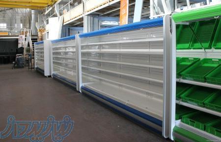 یخچال پرده هوا فروشگاهی یخچال فریزر روباز