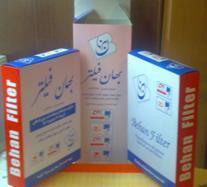 کاغذ خام فیلتر هوا بهان فیلتر  - تهران