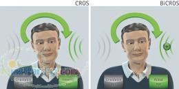 سمعک های CROS و BICROS برای آنها که فقط یک گوششان می شنود