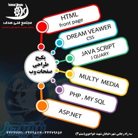 دوره برنامه نویسی و طراحی وب سایت
