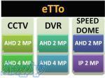 فروش انواع دوربین مداربسته بازرگانی eTTo