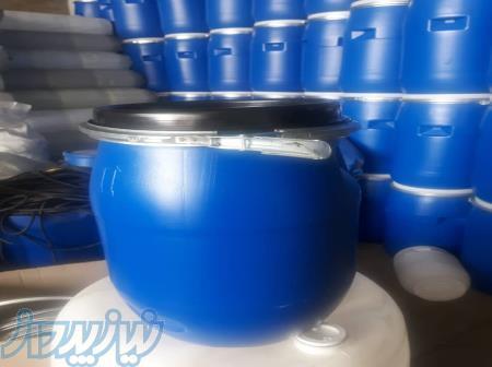فروش بشکه 30 لیتری با کمربند فلزی