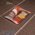 رزین اپوکسی شفاف تزئینات و میز چوبی المانی