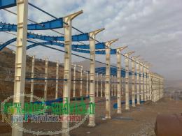 ساخت اسکلت فلزی و سوله,سازه با کیفیت  در سراسر ایران