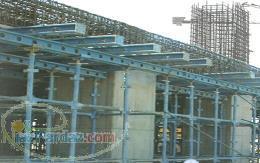 جک سقفی فروش جک صلیبی کارکرده قالب فلزی بتن پلی وود تخته چند لایی