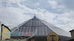 شرکت بناپوشش سازان طراح و مجری انواع نورگیر ساختمانی پوشش سقف پاسیو پوشش استخر سایه بان حیاط خلوت