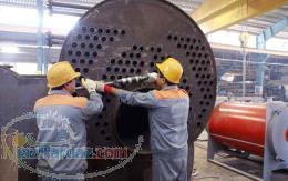 تعمیرات اساسی و مشعل دیگ بخار