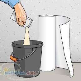 واردات و پخش چسب کاغذ دیواری