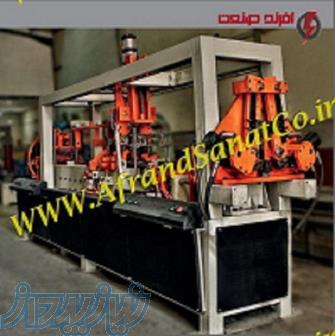 دستگاه تولید خرپای تیرچه صنعتی ، تیرچه پرسی و تیرچه ماشینی