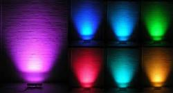 چراغ led  پروژکتور led  وال واشر led  سنگ نورانی