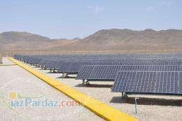 اجرا نیروگاه خورشیدی