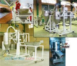 تولید آرد کامل غلات (سبوس دار ) با استفاده از آسیاب برشی