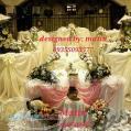 میز نامزدی و جایگاه عروس