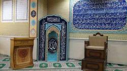 تجهیزات مساجد محراب چوبی محراب mdf  - تهران