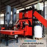 دستگاه خط تولید نیمه اتومات سنگ مصنوعی و قطعات بتنی