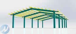 پیمانکاری اسکلت فلزی و سوله، ساخت و نصب سازه های فلزی جوشی و پیچ و مهره نصب سازه در اتفاع های بلند