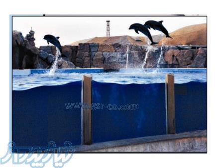 طراحی آکواریوم ، امکان سنجی آکواریوم ، طراحی استخر دلفین ، تونل آکواریوم
